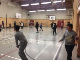 Classroom badminton program