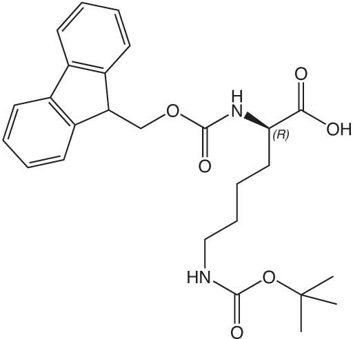 Fmoc-D-Lys(Boc)-OH