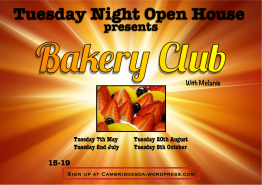 Tuesday Open House Bakery Club