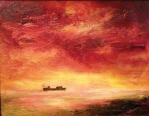 Merecki-sunset-boat
