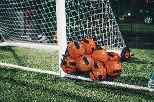 football by net