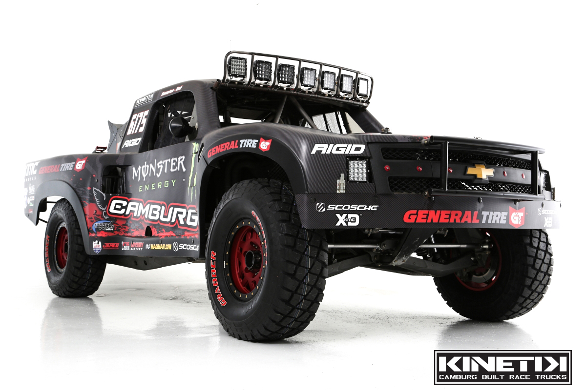 hight resolution of camburg built kinetik race trucks