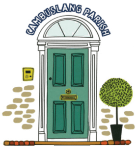 Cambuslang Parish Church - door logo