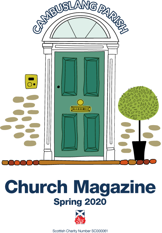 The cover of our spring church magazine