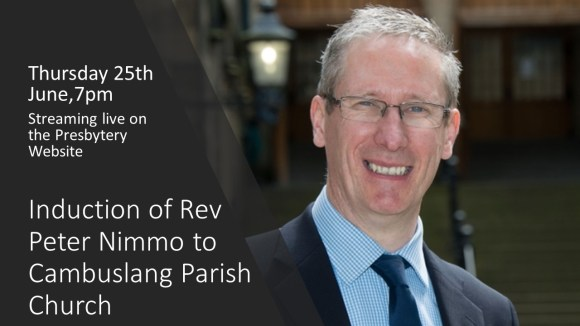 Induction of Rev. Peter Nimmo