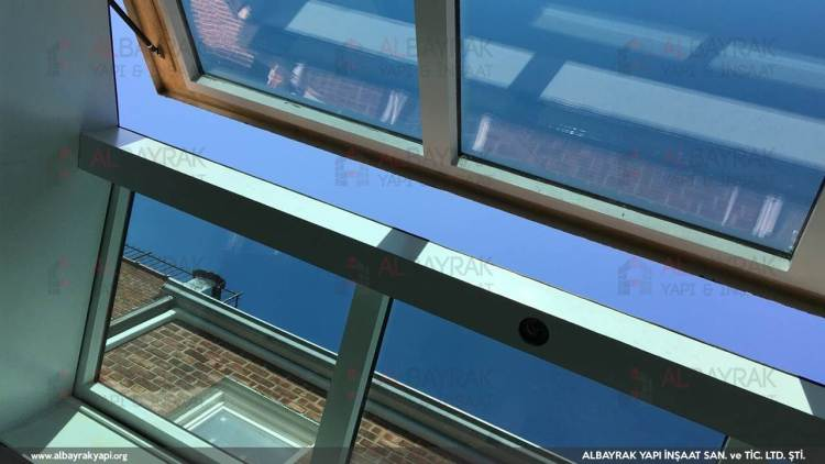 motorlu cam cati 2 - Motorlu Cam Çatı