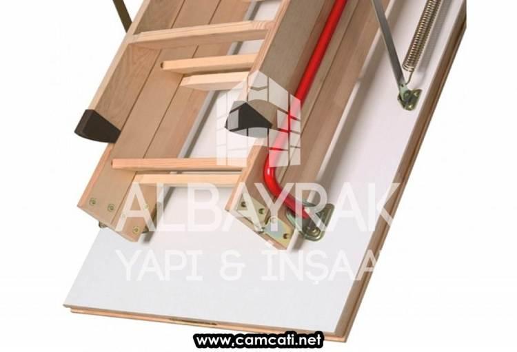 katlanir cati merdiveni 1 - Katlanır Çatı Merdiveni