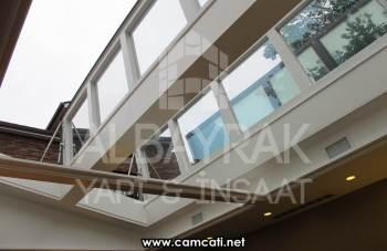 skylight cam cati 3 - Skylight Cam Çatı