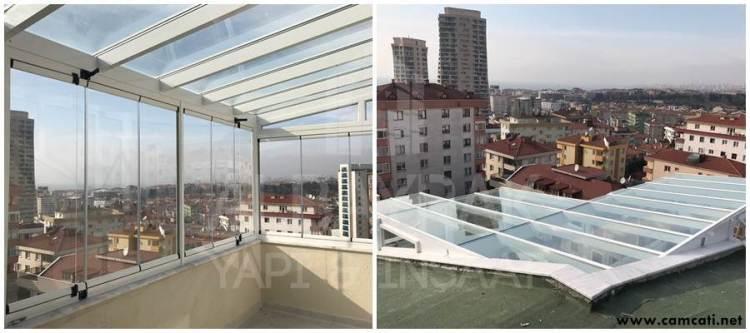 cam cati - Cam Çatı Sistemleri - Skylight Çatı Sistemleri - Polikarbon Çatı Kaplama