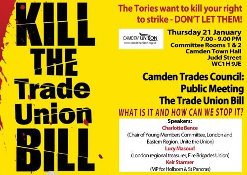 kill the bill trades council H