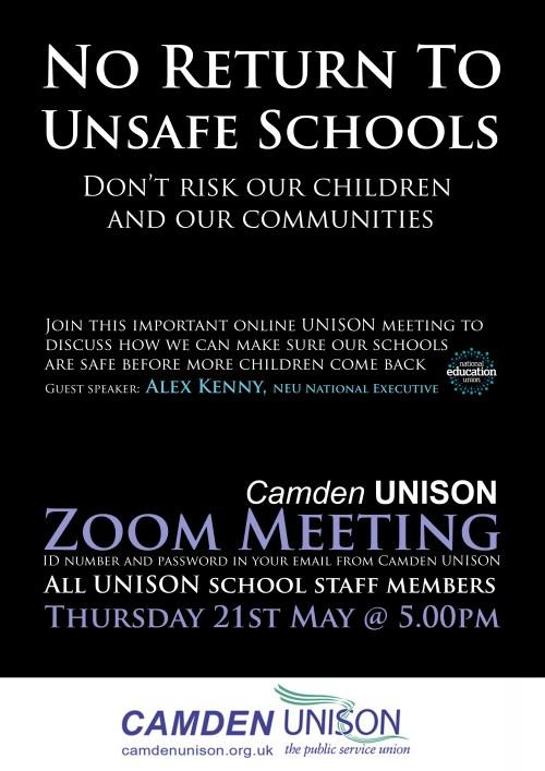 UnisonMeetingSchools21MAY20