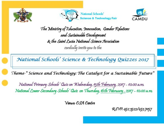 National Schools Science and Technology Quizzes 2017