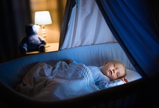 bebeğin uyuması