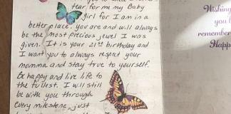 babası öldükten 5 yıl sonra gelen kart