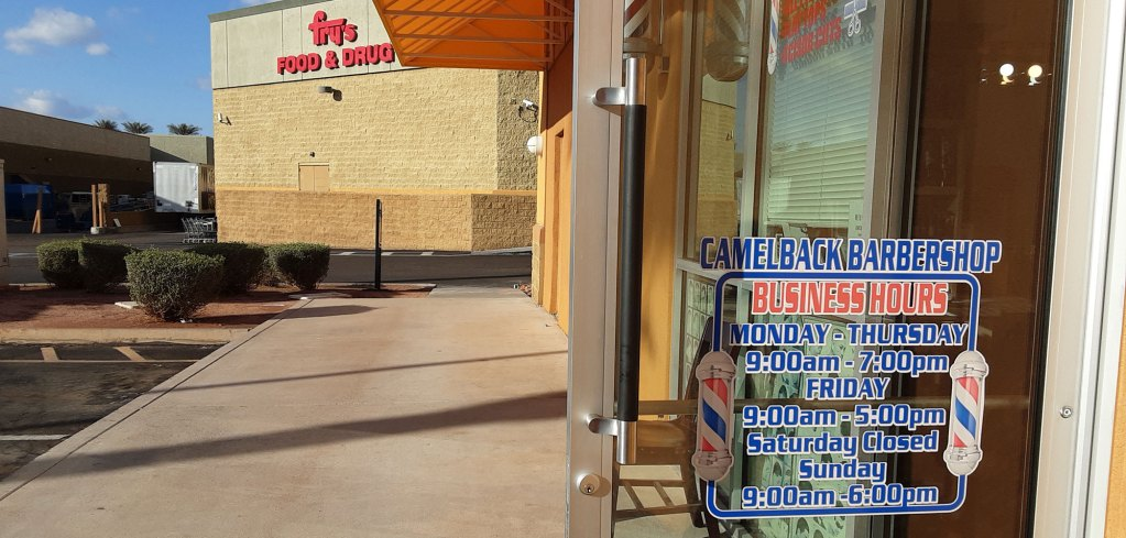 Camelback Barbershop Has Moved to a New Location