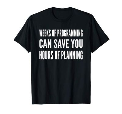 weeks can save hours