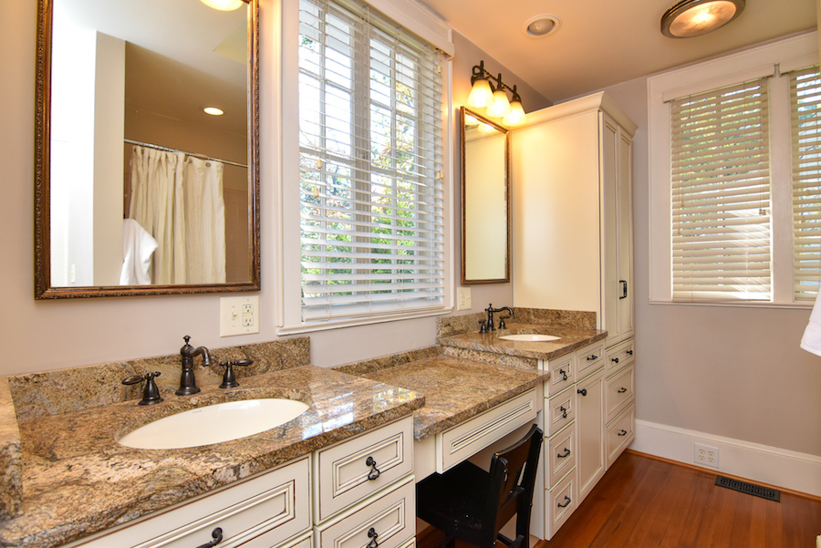 New Listing, 426 Carolina Circle in Buena Vista, Winston Salem. Master bath.