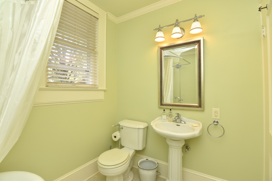 New Listing, 426 Carolina Circle in Buena Vista, Winston Salem. Upstairs bath.