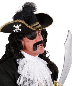 chapeau pirate plume
