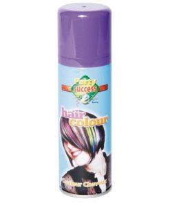 bombe laque cheveux violette