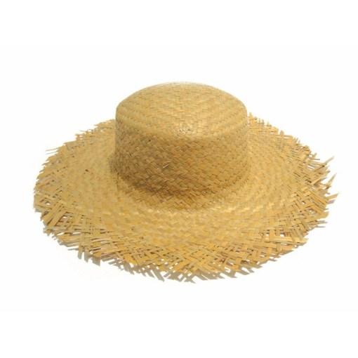 Chapeau de paille havana