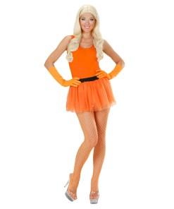 tutu orange fluo