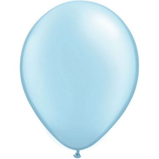 ballons bleu ciel
