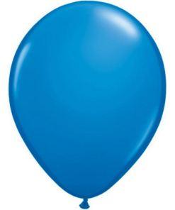 ballons bleu marine