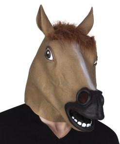 masque cheval latex intégral