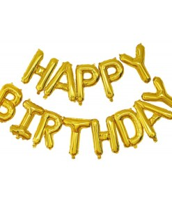 Guirlande ballon happy birthday or