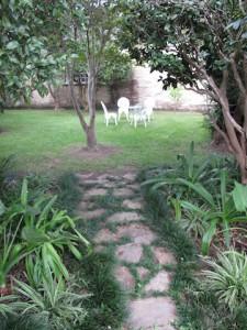 Camelia House Garden Path Lafayette, LA