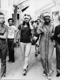 Jackie Kennedy Onassis In Capri