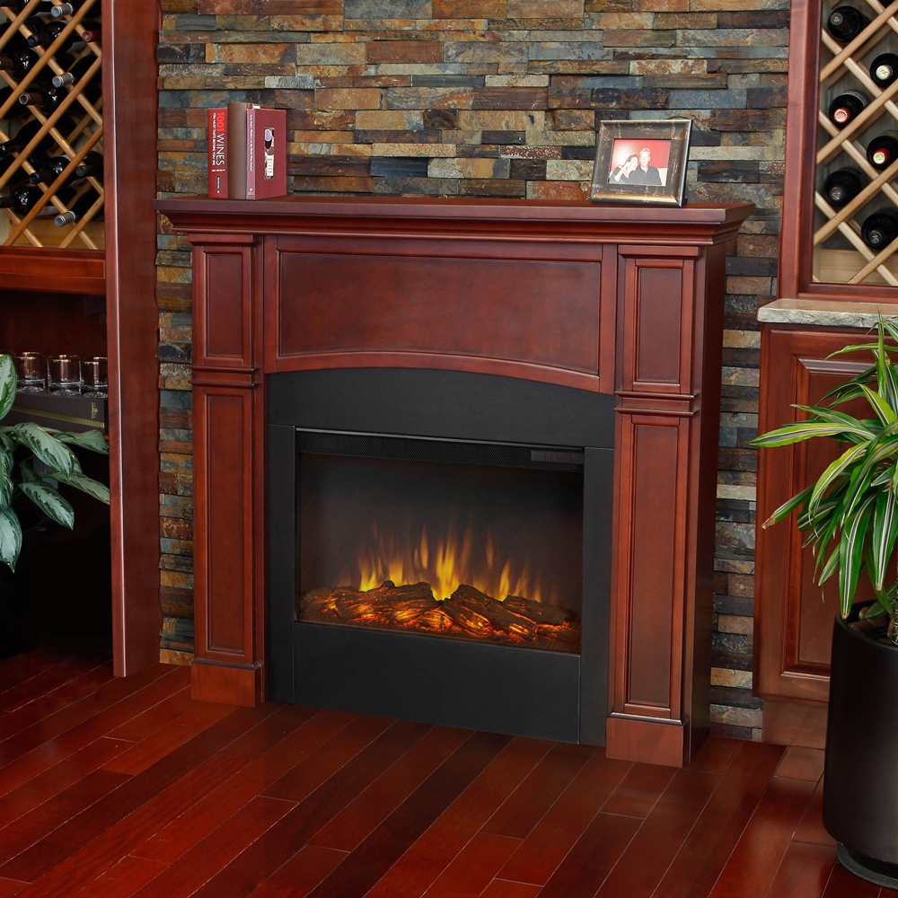 New Slimline Indoor Electric Fireplaces by Real Flame
