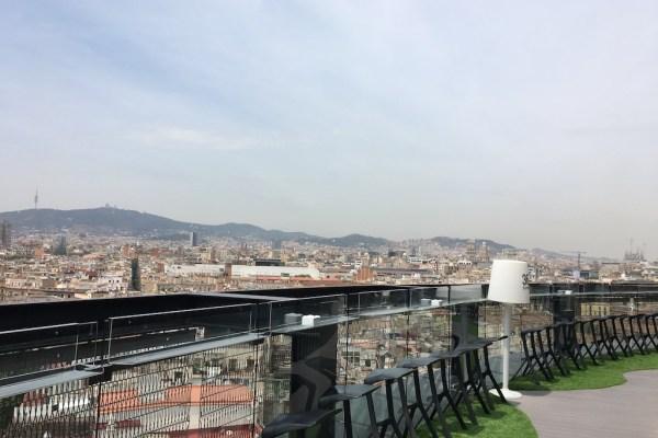 Barcelo Raval 360 Roof Bar Terrace