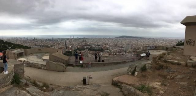 Turó de la Rovira Barcelona Viewpoint