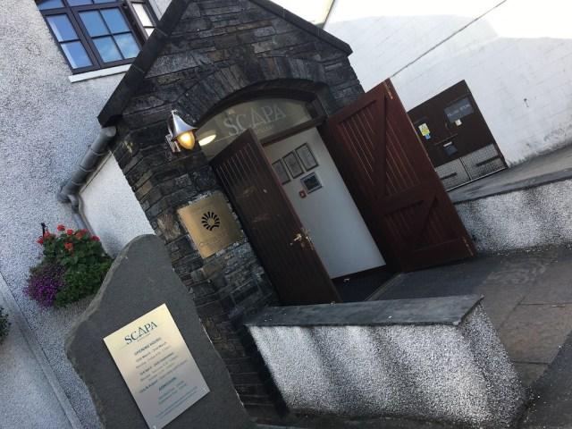 Entrance Scapa Whisky