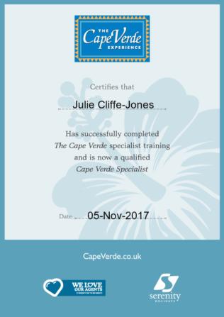 Cape Verde Certificate