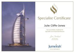 Jumeirah Beacon Specialist