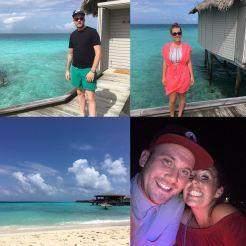 Mr & Mrs Hill Maldives July 2016