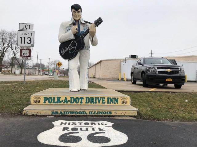 Route 66 Polka Dot Drive Inn