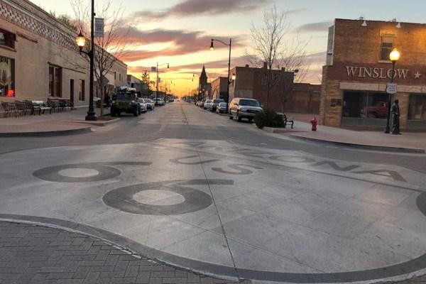 Route 66 Winslow Arizona