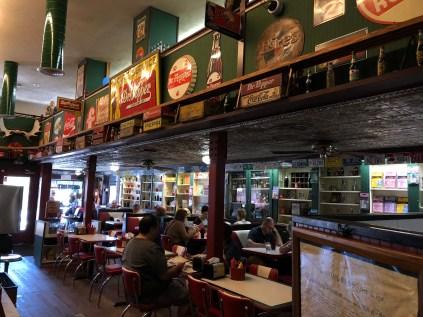 American Diner in Julian where we stopped for malted milkshakes