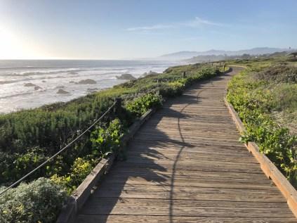 Boardwalk Moonstone Beach