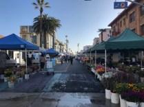 Food Market Stalls Santa Monica