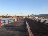 Santa Barbara from the pier at Stearns Wharf