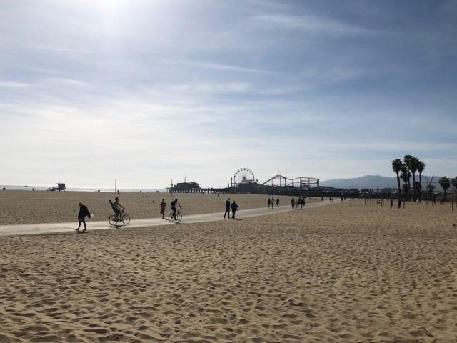 Santa Monica Beach Zika Free California