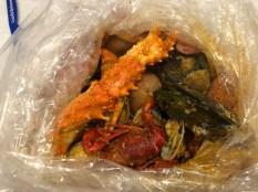 Seafood Bucket at the Crab Hut