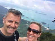 Mr & Mrs McGillion from the SkyCab Machincang Mountain