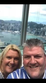 Mr & Mrs Roberts Ozone Ritz Carlton Hong Kong