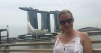 Mrs McGillion Marina Bay Sands Hotel in Singapore